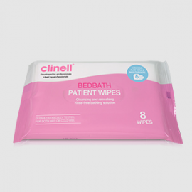 CLINELL BEDBATH WIPES